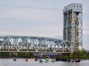 Harlem river -Manhattan during circumnavigation